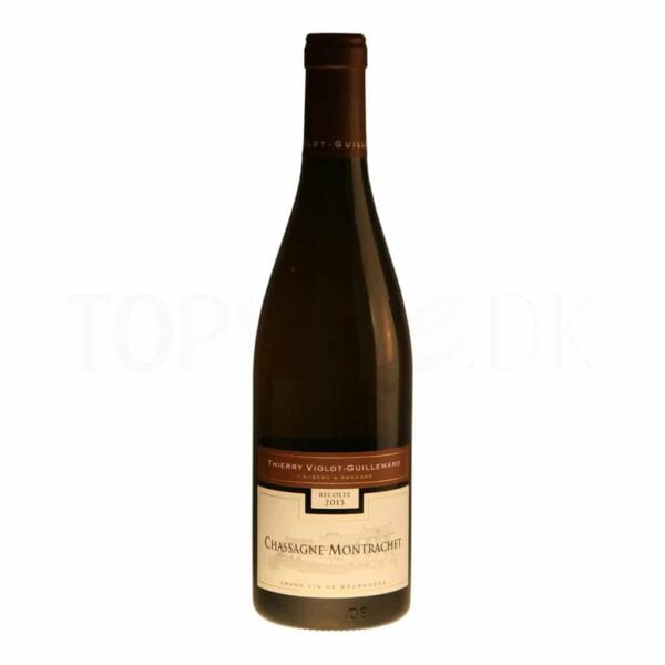 Topvine Thierry Violot Guillemard Chassagne Montrachet 2015 – red