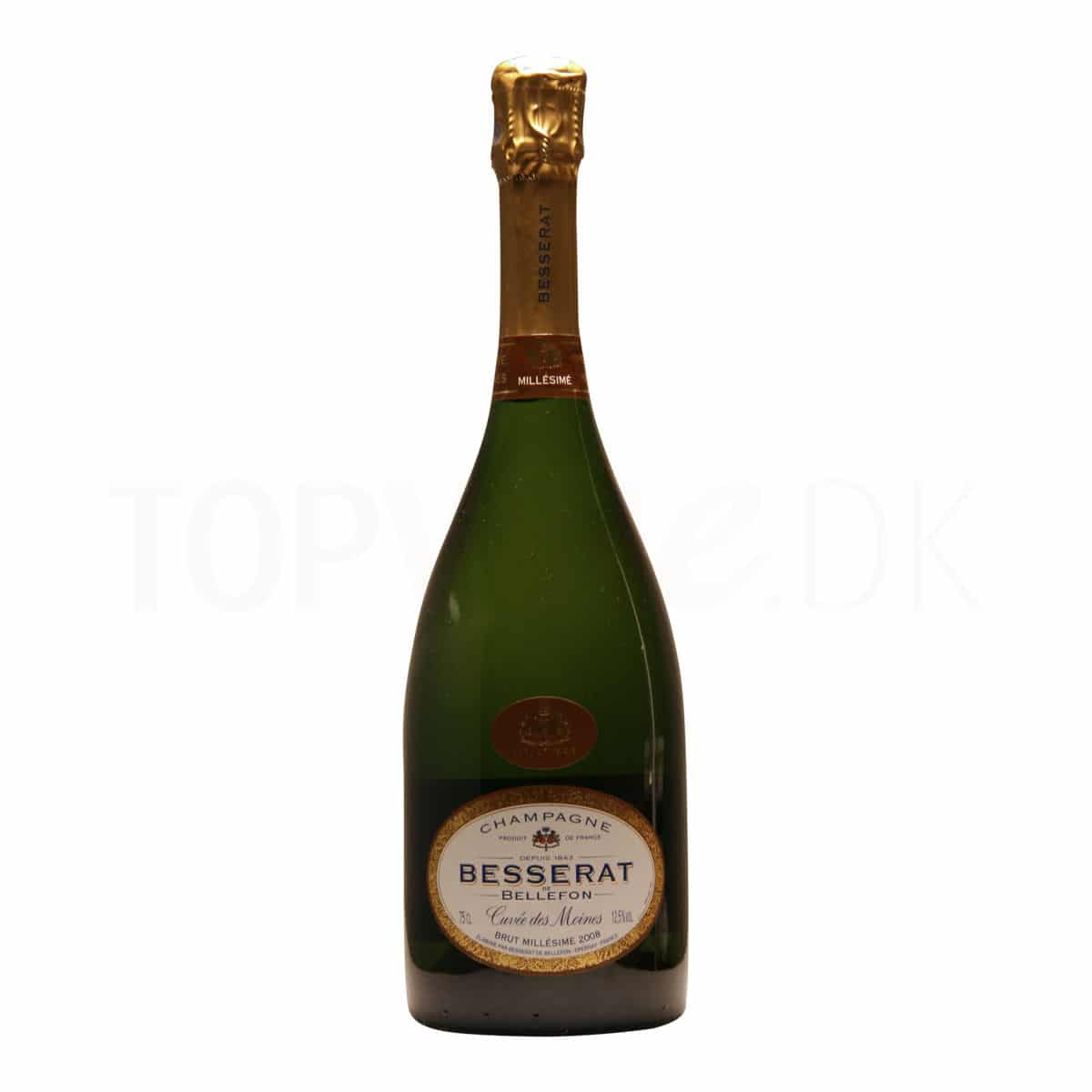 Topvine Besserat champagne Brut Millesime 2008