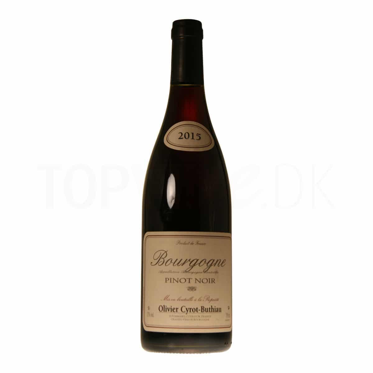 Topvine Olivier Cyrot-Buthiau Pinot Noir 2015