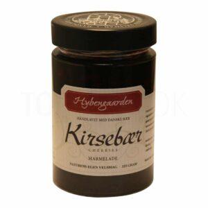 Topvine Hybengaarden Kirsebaer marmelade