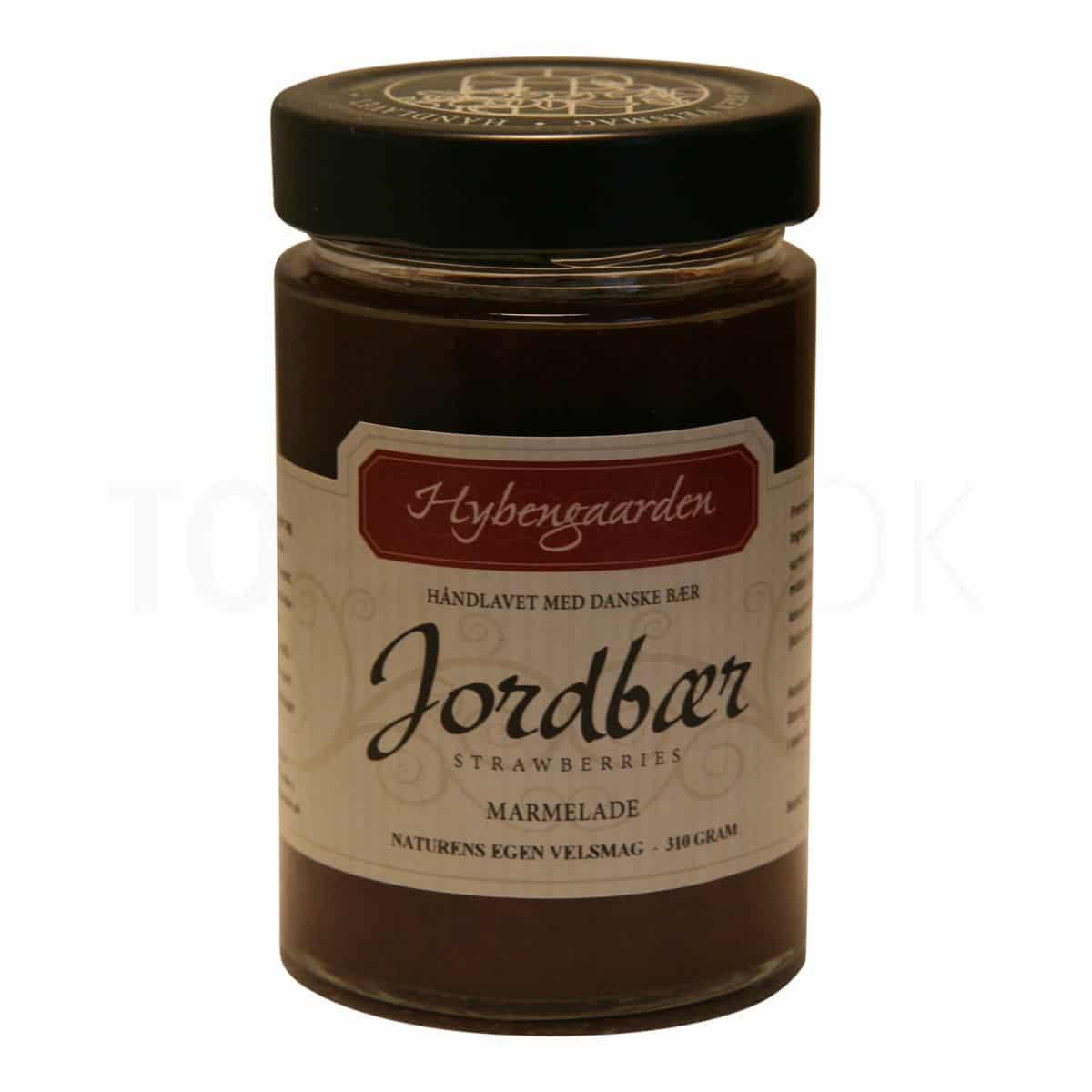 Topvine Hybengaarden jordbaer marmelade