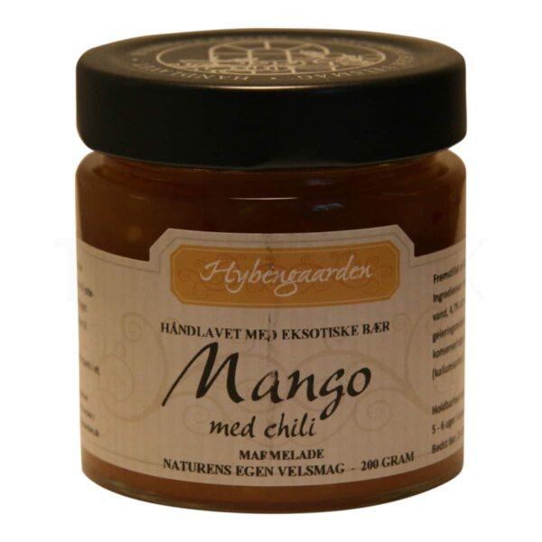 Topvine Hybengaarden mango med chili marmelade