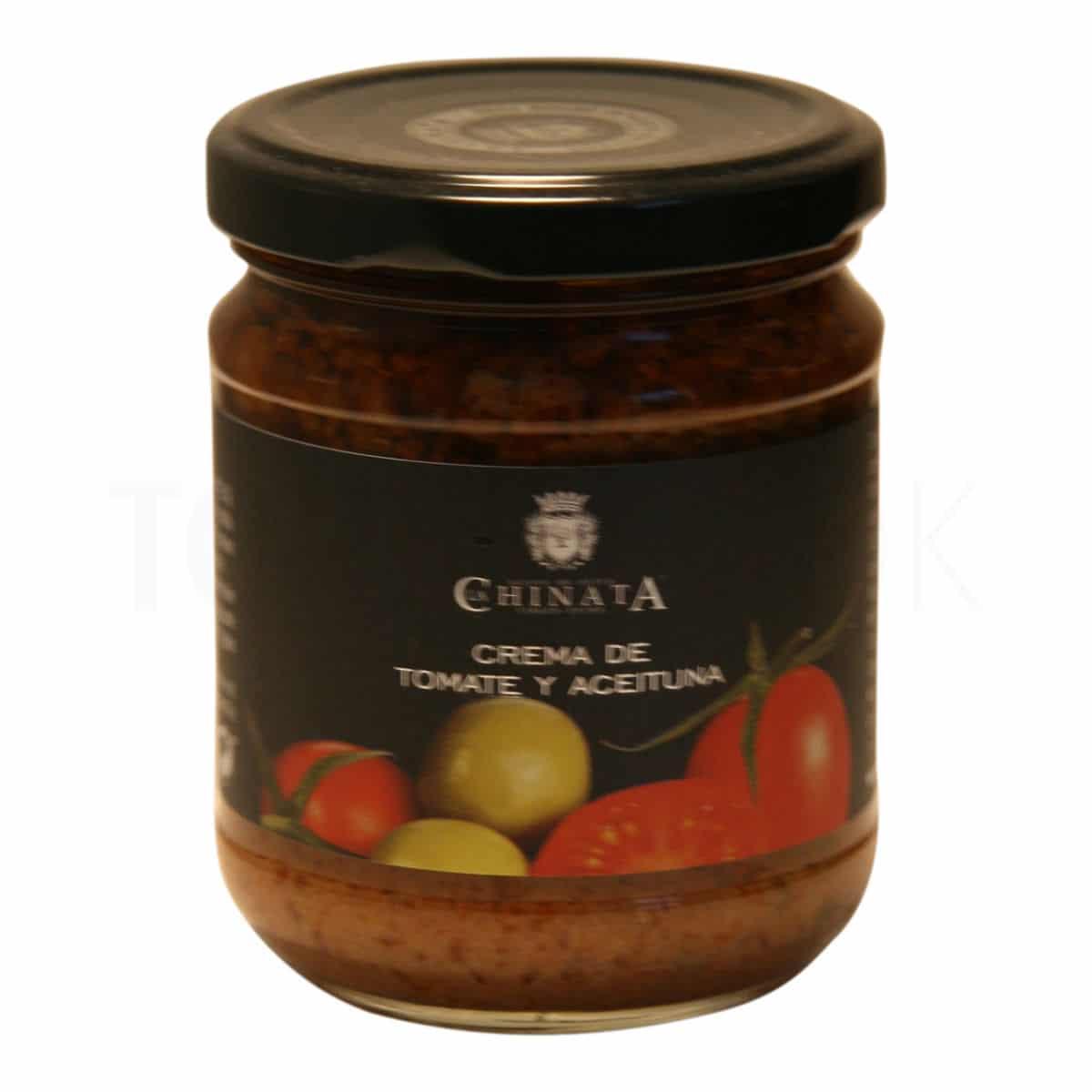 Topvine La Chinata - Groenne oliven & tomat tapenade, 180 gr