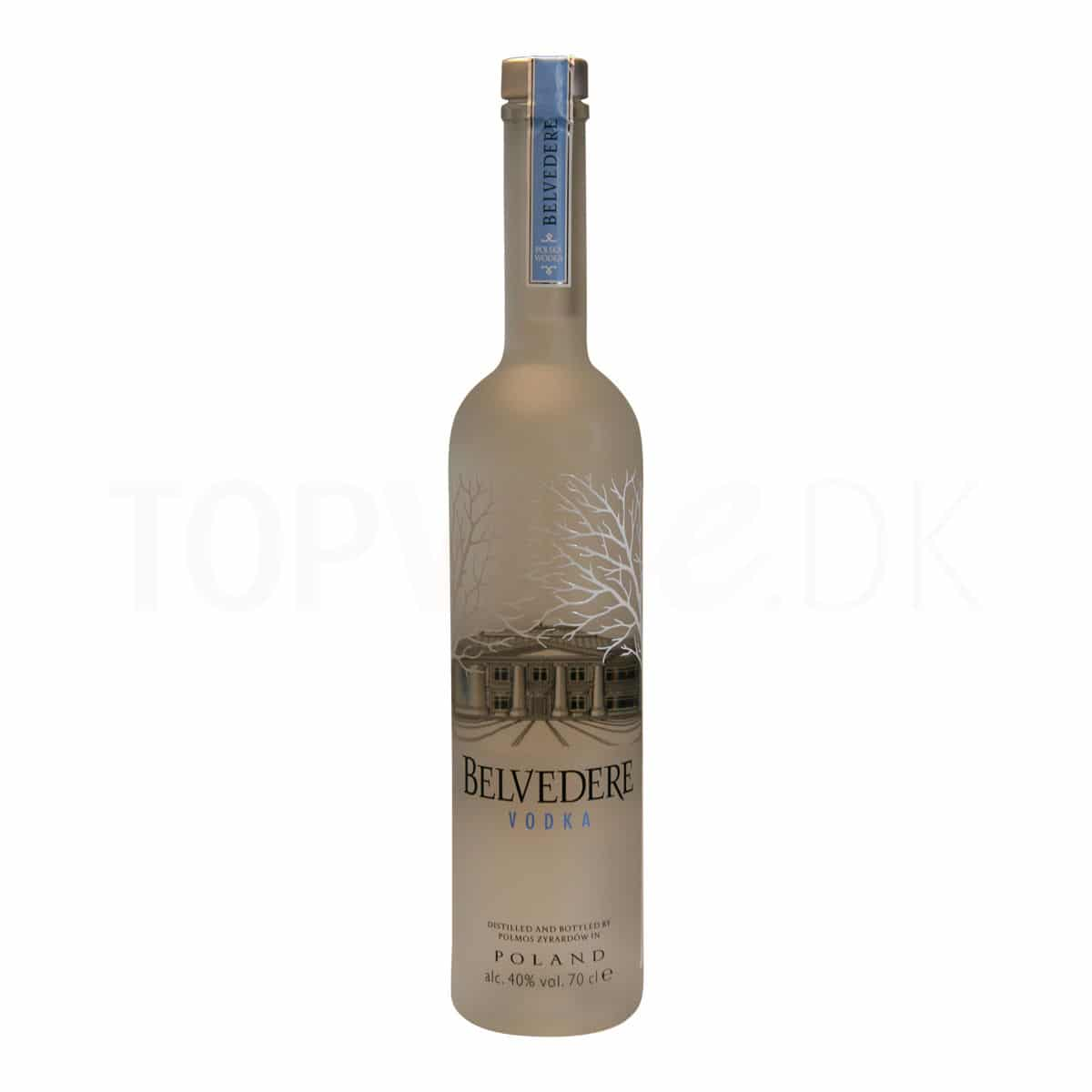 Topvine Belvedere vodka