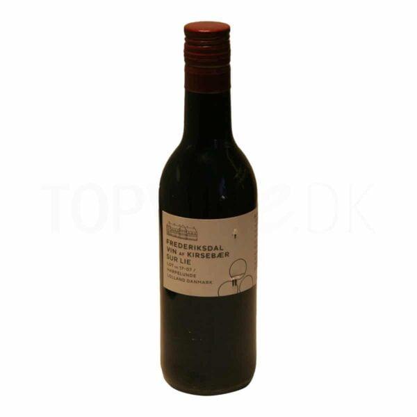 Topvine Frederiksdal Kirsebaer vin Sur Lie 187 ml