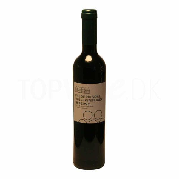 Topvine Frederiksdal Kirsebaer vin reserve 500 ml
