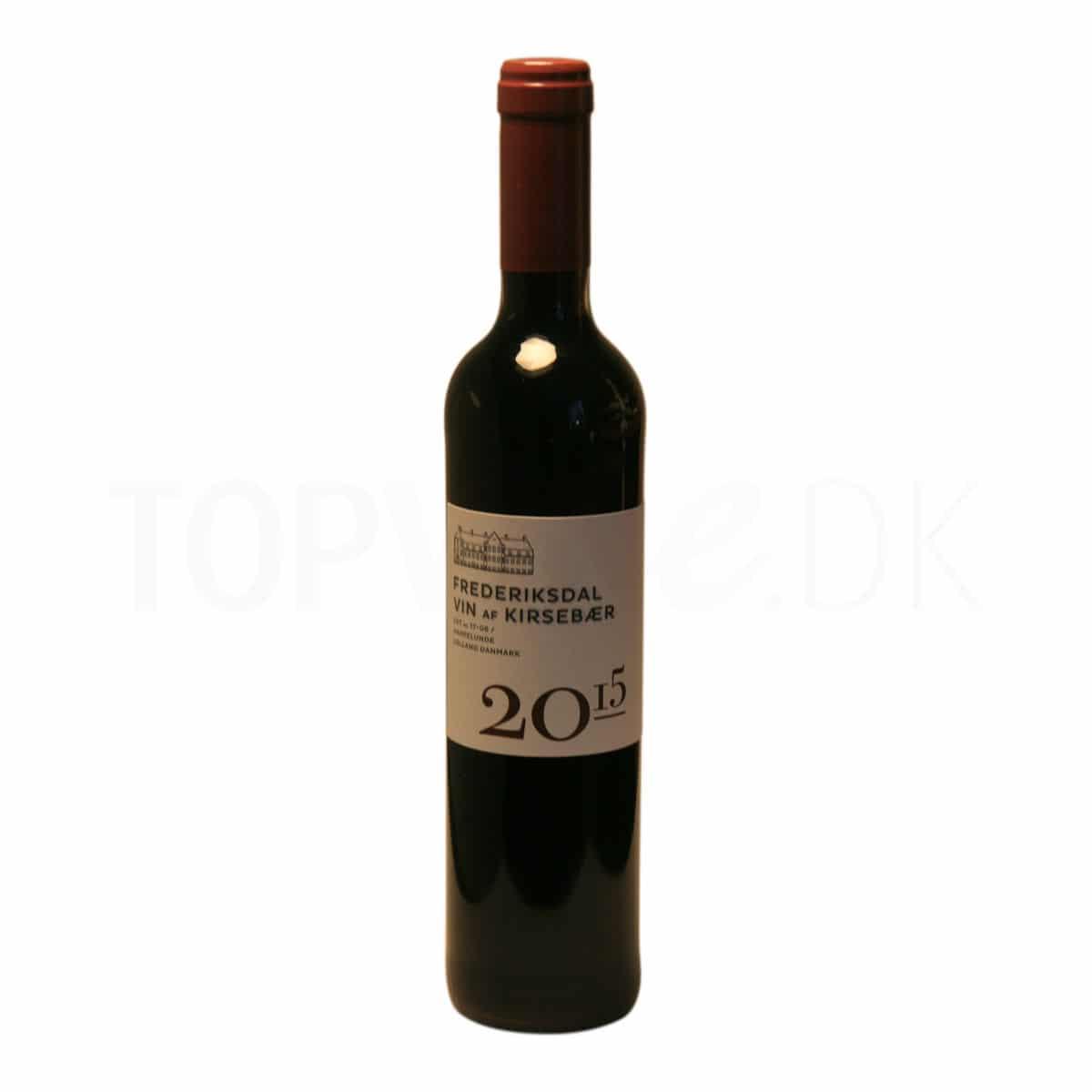 Topvine Frederiksdal kirsebaer vin 2015 500 ml