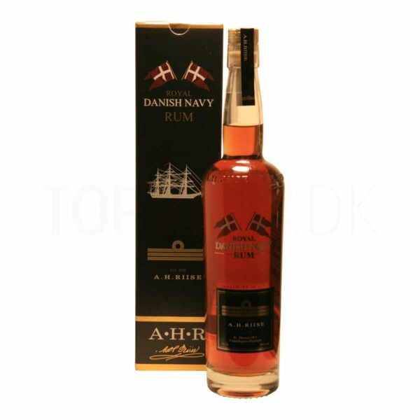 Topvine A.H.Riise Royal Danish Navy Rum 40%