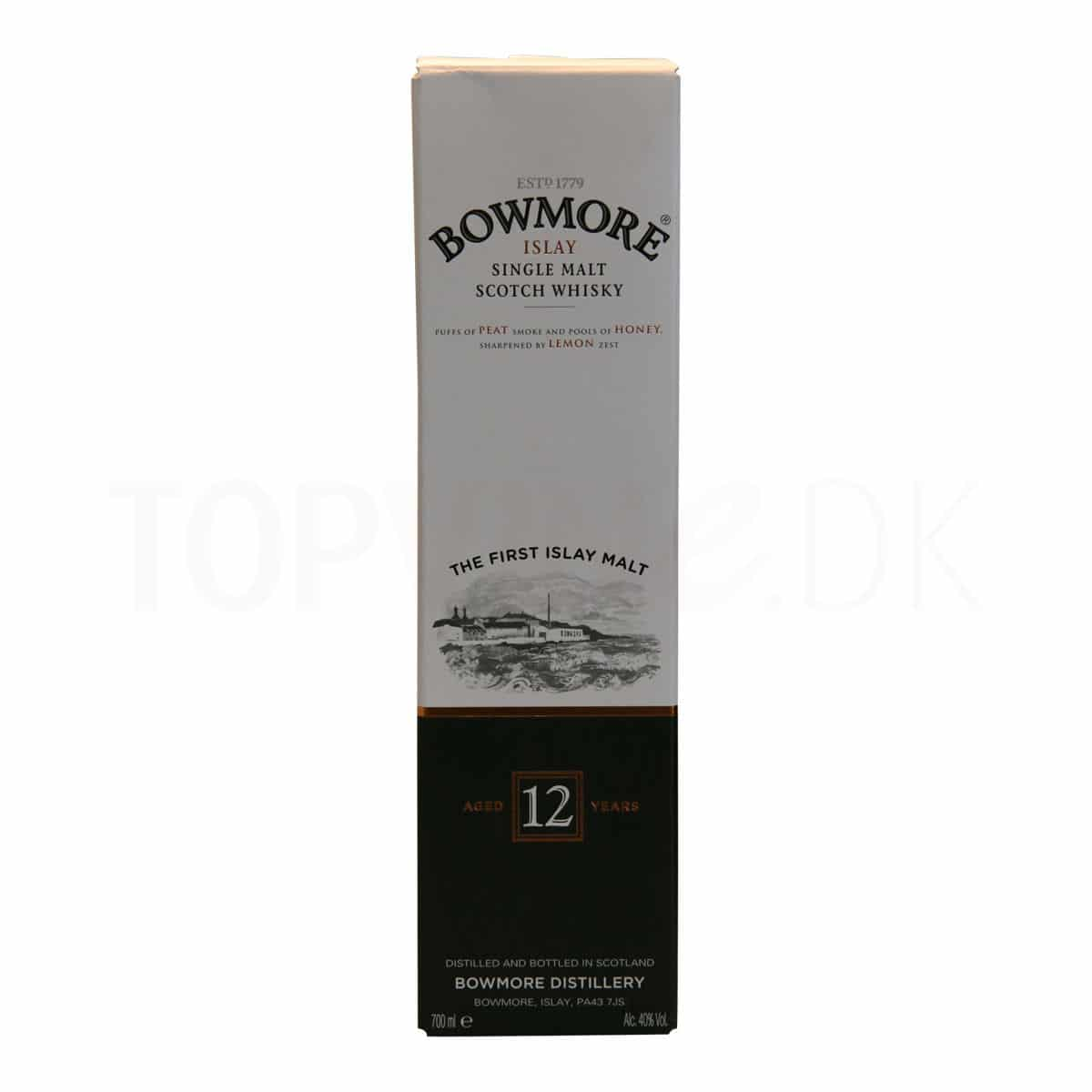 Topvine Bowmore 12 aars single malt whisky