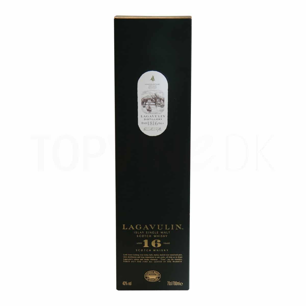 Topvine Lagavulin 16 aars whisky