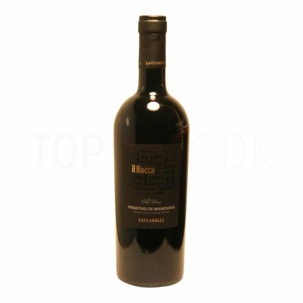 Topvine Luccarelli Il Bacca Primitivo di Manduria old wine