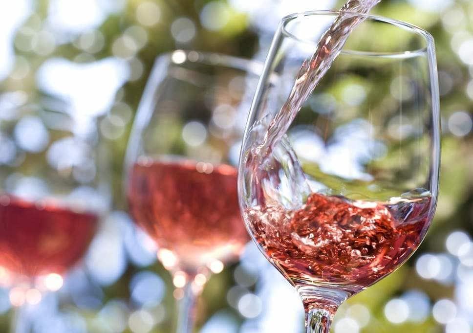 Topvine rose vinsmagning