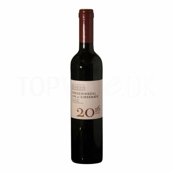 Topvine frederiksdal vin af kirsebaer 2016