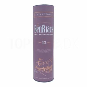 Topvine BenRiach 12 års single malt scotch whisky sherry wood