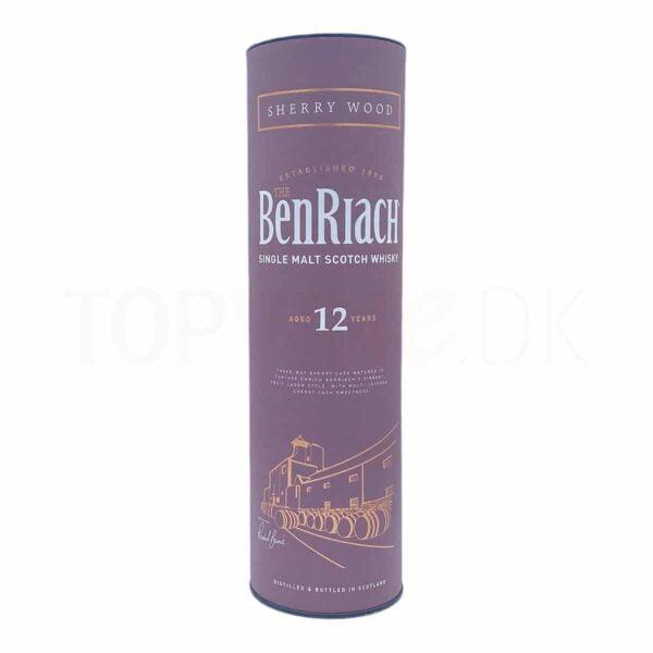 Topvine BenRiach 12 års single malt scotch whisky sherry wood