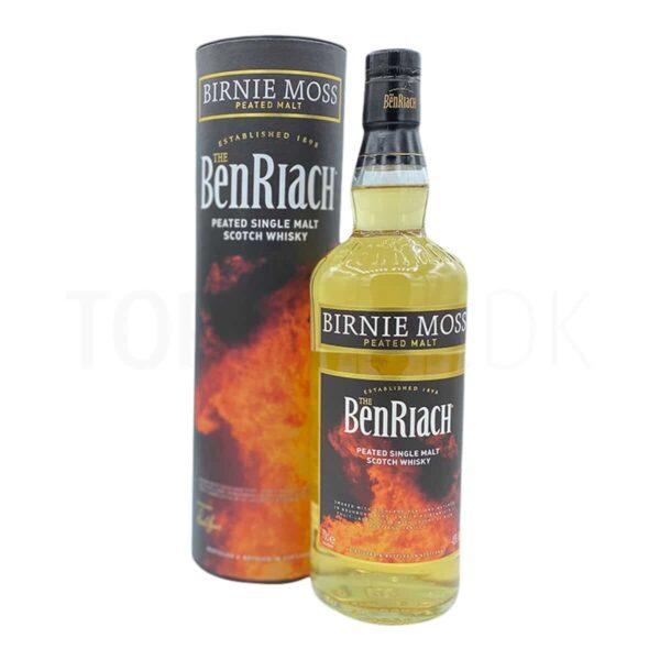 Topvine BenRiach Peated Birnie Moss Single Malt Scotch whisky