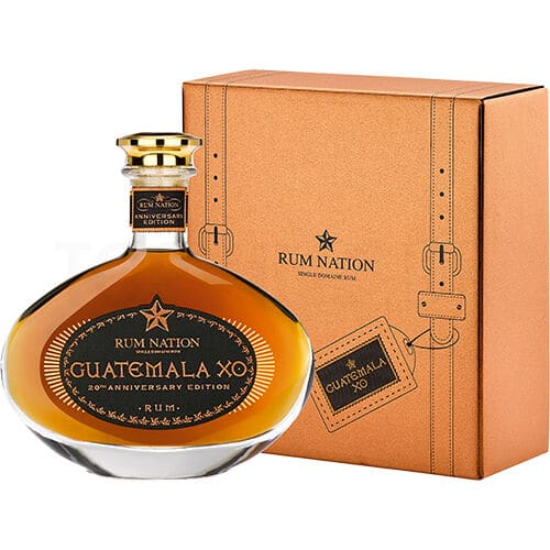 Topvine Rum Nation 20 aars Guatemala XO Anniversary