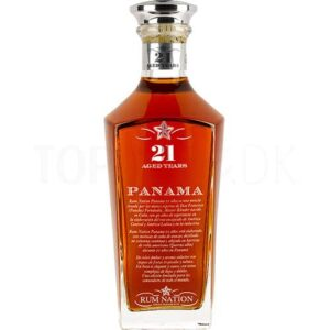 Topvine Rum Nation 21 års Panama rum Decanter