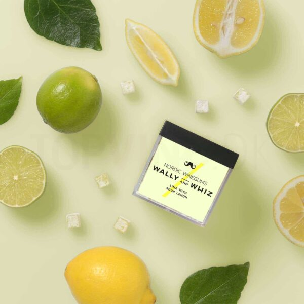 Topvine Wally and Whiz Lime med sur citron